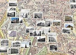 Google создал карту Москвы 1912 года