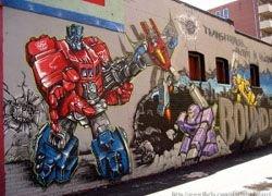 Ученые создали лак для защиты зданий от граффити