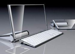 Концепт от HP: компьютер с прозрачным экраном