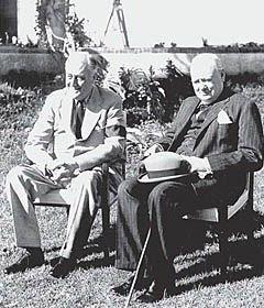 Открытие Второго фронта запоздало из-за Черчилля
