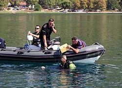 Задержан капитан затонувшего в Македонии судна