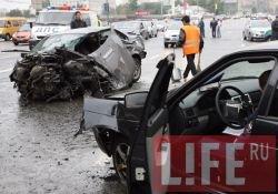 Жуткая авария на Кутузовском