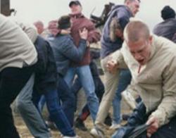 На строительном рынке в Москве произошла массовая драка