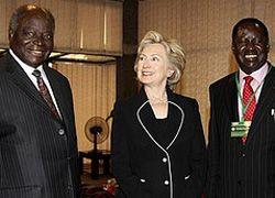 Кенийские спецслужбы предотвратили убийство Клинтон