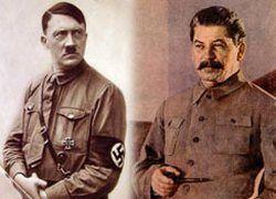 Сталин и Гитлер: найди отличия
