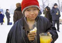 В России сегодня около 200 тысяч бездомных детей