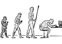 """Homo Sapiens эволюционировал в \""""человека сидящего\"""""""