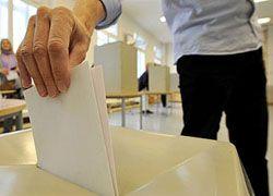 В Германии явка на выборах составляет около 30%