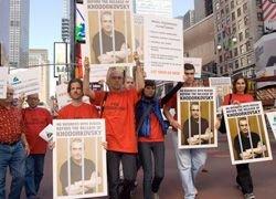 Нью-Йорк поднял плакаты за Ходорковского
