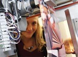 Торговые автоматы печатают книги за несколько минут