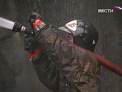Пожар в центре Екатеринбурга: пострадали пять человек