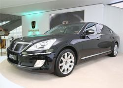 Hyundai Equus превратили в пятиметровый лимузин