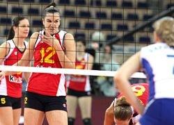 Волейбол: россиянки победили Испанию в ЧЕ