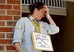 Безработица в США достигла максимума за 26 лет