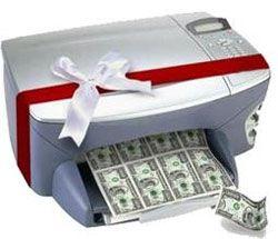Кто печатает доллары?