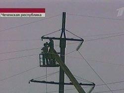 В Чечне 145 тысяч человек остались без света