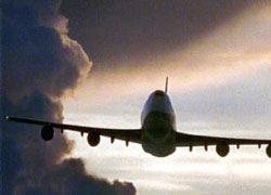 Авария прервала авиасообщение с США