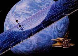 Япония запустит в космос солнечную электростанцию