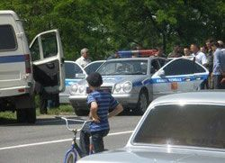 В Ингушетии в результате взрыва ранен майор милиции