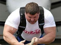 Савицкас признан самым сильным человеком планеты