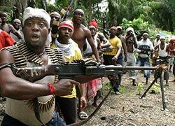 В Нигере боевики сдают оружие