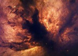 Астрономы сфотографировали космическое пламя