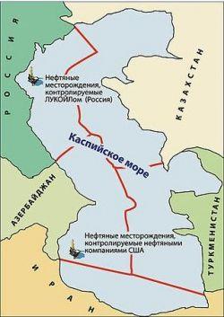 Россию лишают влияния в Каспийском регионе