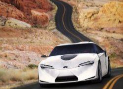 Toyota покажет миру гибридный спорткар