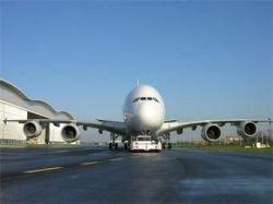 Аэробус А380 летит в Москву