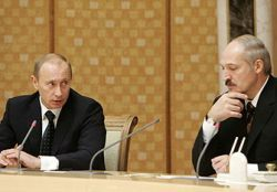 Лукашенко пожалел пожелать Путину хоть что-нибудь