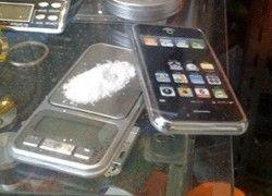 iPhone превратили в весы для взвешивания кокаина