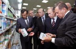 Путин: Техрегламент на молоко не работает