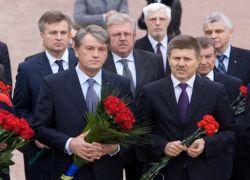 Ющенко приравнял пособников нацистов к их жертвам