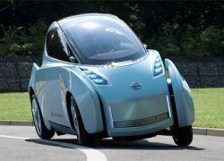 Nissan собрал прототип двухместного электрокара