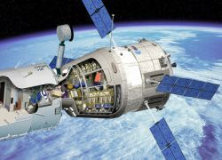 Космические грузовики заменит пневматическая пушка
