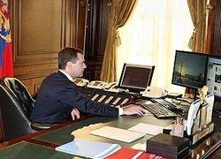 Медведев призывает губернаторов заняться блогами
