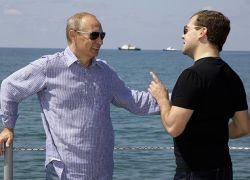 Медведев и Путин больше не братья по крови?