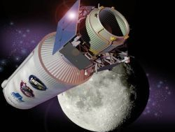 Лунный зонд-камикадзе врезался в Луну