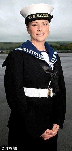 Голливудская актриса ушла на флот