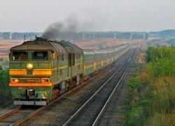 Под Тамбовом локомотив врезался в поезд