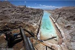 В Мексике найдено крупнейшее в мире месторождение лития