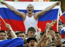 Футбол: Россия против Германии