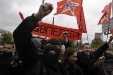 Акция протеста против политики мэра Москвы
