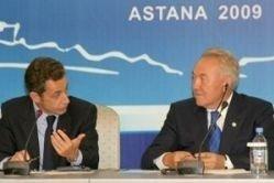 Визит Саркози в Казахстан воспринят там неоднозначно