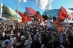 Петербургская оппозиция достигла новых высоток