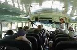 В Хабаровском крае перевернулся автобус со школьниками