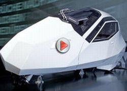 BMW Simple наклоняется на поворотах, как мотоцикл