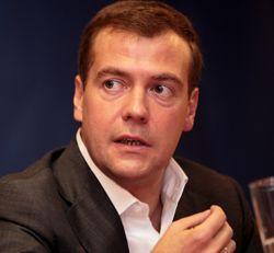 Медведев: результаты борьбы с кризисом обнадёживающие