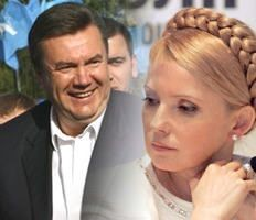Янукович и Тимошенко: состязание в благочестии