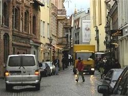 Взрыв в Вильнюсе: один пострадавший
